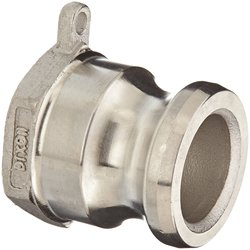 "Dixon Stainless Steel 316 Cam & Groove Hose Fitting - 1"" Coupling"