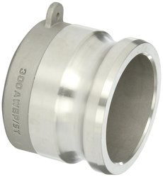 "Dixon Stainless Steel 316 Cam & Groove Hose Fitting - 3"" Coupling"