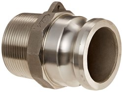 Dixon Stainless Steel 316 Boss Lock Type F Cam & Groove Hose Fitting