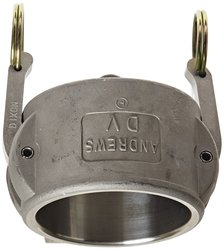 Dixon Stainless Steel 316 Type DC Cam & Groove Hose Fitting - 2-1/2""