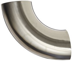 "Dixon 6"" Tube OD Stainless Steel 304 Sanitary Fitting"