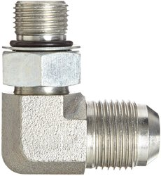 Eaton Aeroquip 90 Degree Male to Male Straight Thread Connector
