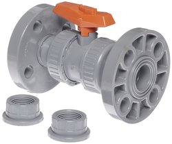 GF Piping Systems Two Piece CPVC True Union Ball Valve - Size: 1""