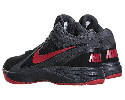 ... 8 Nike Men s The Overplay VIII Basketball Shoes - Black Red - Size  ... 2cde01517