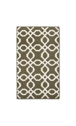 Threshold Trellis Accent Rug - Olive (2'x3')