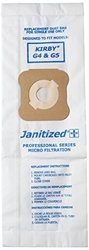 Janitized JAN-KIG45-2(10) Premium Replacement Commercial Vacuum Paper Bag for Kirby G4 & G5 Vacuum Cleaner (10 - 10 packs)