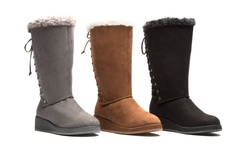 Olive Street Comfort Cold Weather Boot: Grey/8