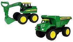 John Deere 15 inch Big Scoop Excavator And Dump Truck (37613A)