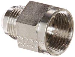 """EW 1/2"""" JIC Male x 5/8"""" Female Stainless Steel SAE 37"""
