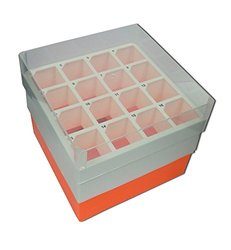 Argos R0050 Polypropylene Storage Box for 50mL Centrifuge Tube - Case of 2