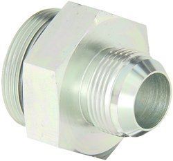 "Eaton Aeroquip 1"" Male JICx1.5"" O-Ring Boss Male Steel Flared Tube Fitting"