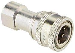 "Eaton Hansen 1/4""-18 NPTF Female Steel ISO-B Interchange Hydraulic Fitting"