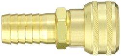 "EH 7000E 1""-Hose ID 3/4""-Body Brass Interchange Pin Lock Pneumatic Fitting"