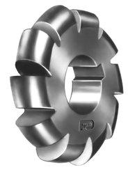 """F&D Tool 1/8"""" Dia. of Circle 2.25"""" Dia. of Cutter 1"""" Hole Convex Cutter"""