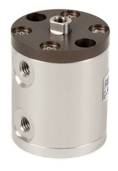 "Fabco-Air 1/2"" Bore Diameter x 3/4"" Stroke Double Acting Pancake Cylinder"