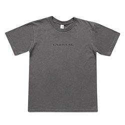 Cadillac Men's Anvil Fashion T-Shirt - Charcoal - Size: Large