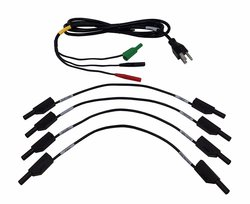Dranetz VCP-4300 Voltage Cable Accessory Pack with 4 Jumper Cables