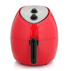Cook's Companion 1700W 5.8QT High Speed Air Fryer - Red