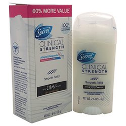 Secret Clinical Women's Deodorant Stick with Olay Skin Conditioners -2.6Oz