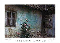 """Milena Soree 'Croatian Rose' Fine Art Poster - Superior Quality Print with Stunning Unique Image From the Old World - 23""""x30"""""""