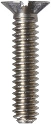 Small Parts 303 Stainless Steel Machine Screw Plain Finish