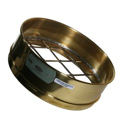 "Advantech Test Sieves - Brass - 12"" Diameter 2.50"" Mesh - Full Height"