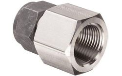 Parker CPI 12-12 GBZ-SS 316 Compression Tube Fitting Adapter - SS