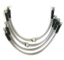 RacingBrake BL042 Brake Line for Civic LX and EX with Large Front Rotor