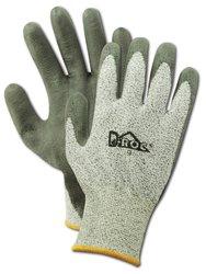 Magid D-ROC GPD546 Polyethylene/Polyester Glove 12Pk - Gray - Size 11