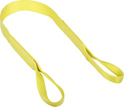 Mazzella EE1-902 Edgeguard Nylon Web Sling - Yellow - Size: 15' Length