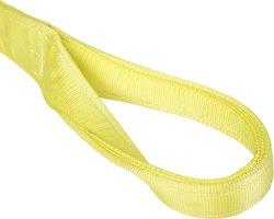 Mazzella EE1-904 Edgeguard Nylon Web Sling - Yellow - Size: 19' Length