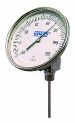 Wika TI.52 Steel Grade Resettable Bi Metal Thermometer - -50/500 Degree