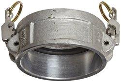 """Dixon Aluminum 356T6 EZ Boss Lock Type H Cam & Groove Hose Fitting - 4"""""""