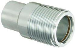 "Dixon WS8F8-BOP Steel Hydraulic Fitting - 1"" Coupling x 1"" - 11-1/2 NPTF"