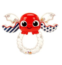 Little Tikes Baby Shake 'n Rattle Crabbie Ring - Red - Age - 0-12 Month