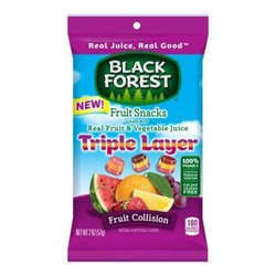 Black Forest Triple Layer Fruit Collision Fruit Snacks - 2 oz - 48 / case