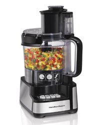 Hamilton Beach 12-Cup Stack & Snap Food Processor (70725) 1101100
