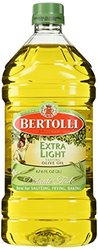 Bertolli MI3089 Extra Light Olive Oil - Clear