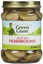 Green Giant Sliced Mushrooms Glass Jar - 45 oz/12 case
