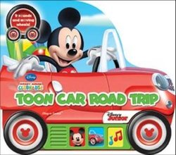 Micky Mouse Little Vehicle Book Toon Car Road Trip [Book]