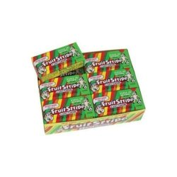 Ferrara Pan Fruit Stripe Gum Packs - Size: 17 sticks per pack 12