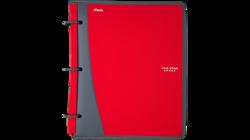 "Five Star 28028 Zipper Binders - Red - Size: 1"""