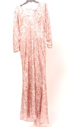 Badgley Mischka Women's Evening Dress - Blush - Size: 6
