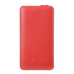 Melkco - Leather Case for Blackberry Z10 -Jacka Type - Carrying Case - (Red) - BBBZ10LCJT1RDLC