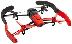 Parrot BeBop Drone Quadcopter with 14 Megapixel Flight Camera (Red)
