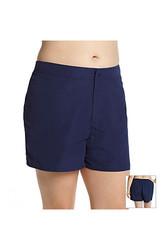 South Point Women's Shaka Swim Shorts - Black - Plus-Size