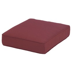S&H Polyester Outdoor Back Cushion - Blood Red