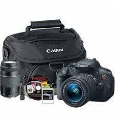 Canon T5I 18-55MM & XTRA LENS (8546B002) 16GB