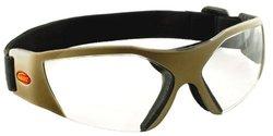 Bangerz Curved Shield Goggle - Clear (HSS5500)