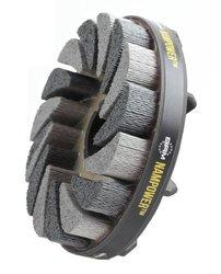 BR ADT12518120 18mm Bristle L Nampower Turbine Style Abrasive Disc Brush